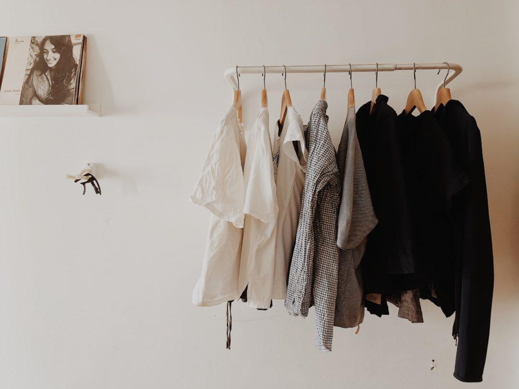 Homeschool Gazette's photo of Dawn Fung's sparse wardrobe